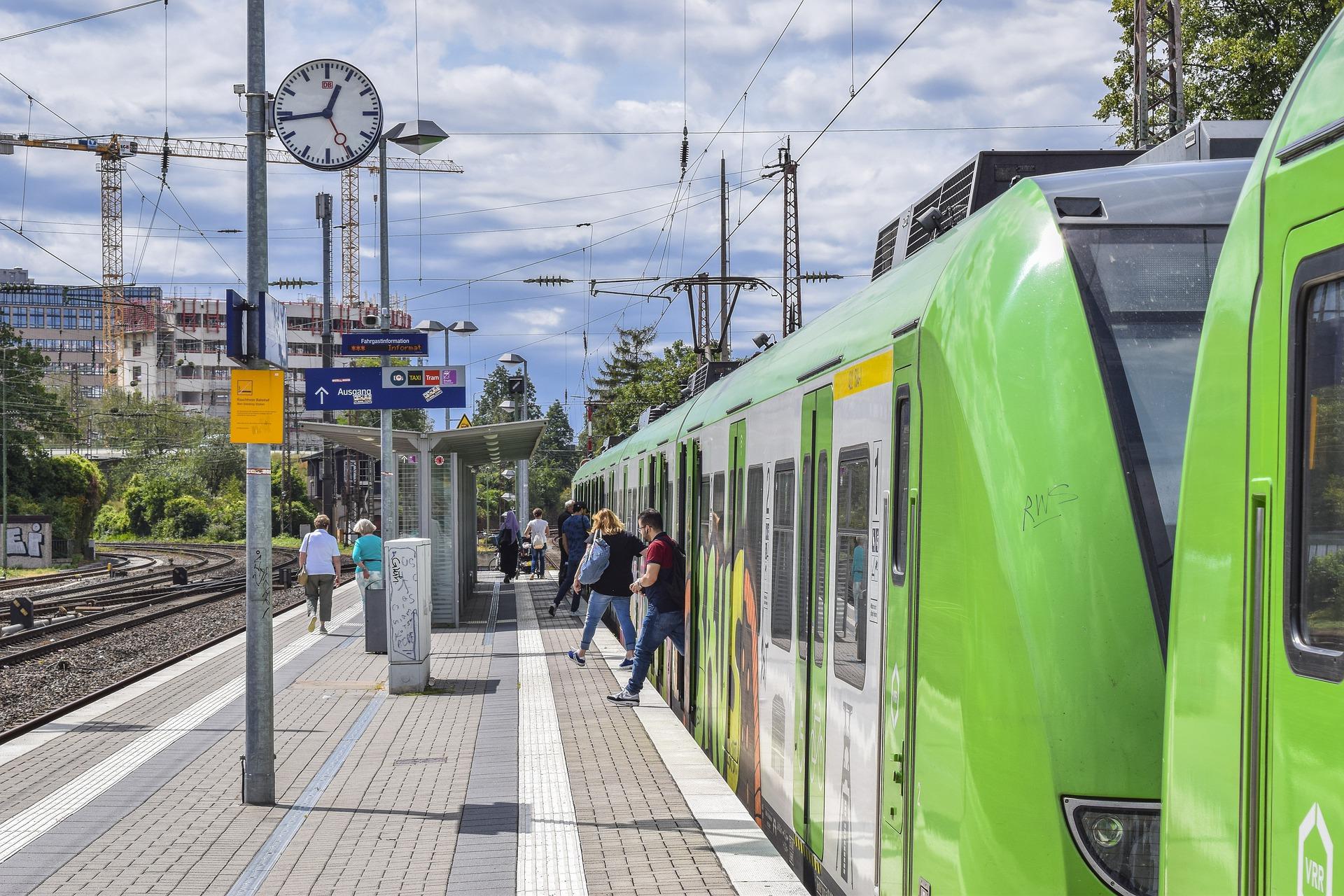 Bahn Baustellen 2021